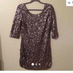 Lauren Conrad sequin dress